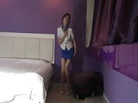 Korean pantyhose air stewardess Thumb