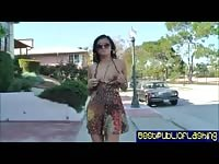 Cece Stone is a public flashing jerking babe pt. one Thumb