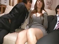 large titted japanese working with bosses Thumb