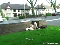 inexperienced blondes outdoor masturbation and public nudity Thumb