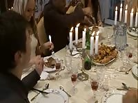 xxx dumb Christmas dinner orgy Thumb