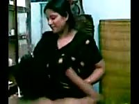 huge-chested indian Aunty's big breasts deep-throating by Neighbor Thumb