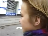 Danish brief haired teen picked up from street Thumb