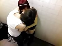 teenage  lovers caught fooling around in a locker room by a peeper Thumb