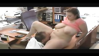 Chubby amateur with big ass fucked hard Thumb