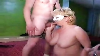 Amateur with hot wives in masks Thumb
