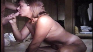 Loving blowjob and sex with his wife Thumb
