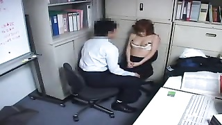Japanese girl fucked by office mate Thumb