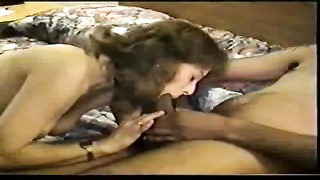 White hubby and wife enjoy black cock Thumb