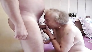Chubby old granny fucked by chubby guy Thumb