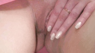 Young girl playing with cunt on camera Thumb