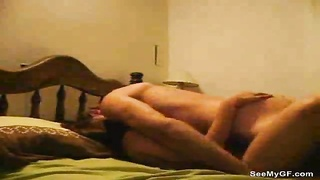 The cute chick and her lover make a porn tape Thumb