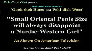 Small Oriental Penis Size always disappoints Western Blondes Thumb