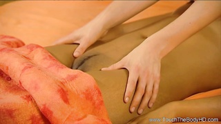 Mixed Lesbians Massage For The Erotic Thumb