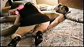Special Fuck With Her Black Bull Thumb