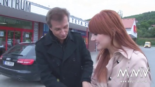 MMV FILMS Redhead teen caught shoplifting and punished Thumb