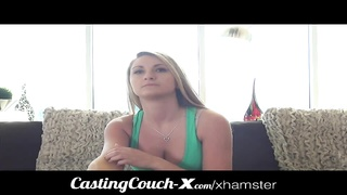 Casting Couch-X Blonde Southern bimbo fucks for cash Thumb