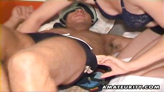 A nasty amateur wife homemade anal action ending with a nice blowjob and a facial cumshot, she loves Thumb