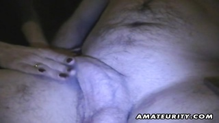 A brunette amateur girlfriend homemade blowjob with cumshot in her mouth  She swallows it all ! A gr Thumb