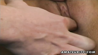 A beautiful blonde amateur girlfriend homemade hardcore action. She gets her pussy toyed and eaten a Thumb