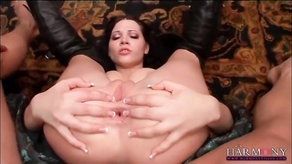 Big dick stretches asshole of Rebecca Linares Thumb