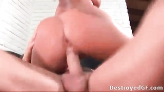 Tory Lane aggressively sits her asshole on a cock Thumb