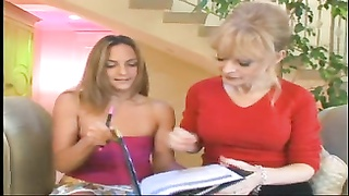 Old and Young Lesbians Nina Hartley and Lexi Love Thumb