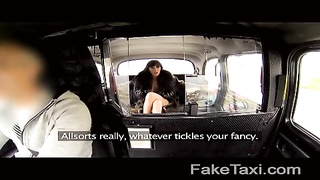 FakeTaxi - Escort trades anal for free toddle Thumb