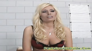 large melons blondy plumbed inwards  The Jail Thumb