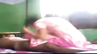 North Indian Girl's blowjob stupid, HJ boring with her Neighbor's jizz-shotgun Thumb