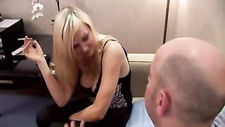 milf Danica from London screwing in leather gloomy boots Thumb