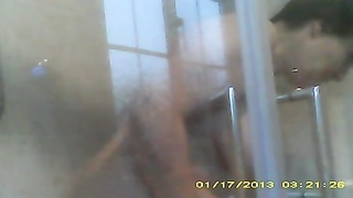 big hooter wifey  in shower Thumb