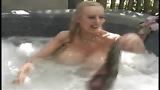 Alena Snow In The Pool Thumb
