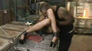 Girl Gets Bonded and Dominated By Black Dick Thumb