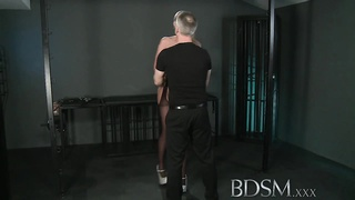 BDSM XXX Master gives blonde beauty a hardcore lesson Thumb