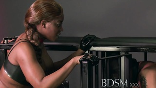 BDSM XXX Hooded slaves are put to the test Thumb