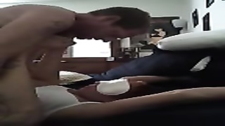 Blindfolded wife gets cum Thumb
