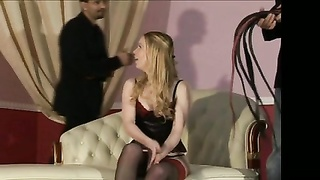 Blond female great flogging Thumb