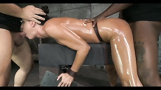 obliging Brunette mummy  restrain bondage  Treatment Thumb