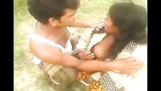 Desi Indian large breast aunty took hold of outdoor piece 4 Thumb