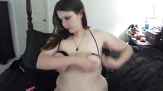 fat binds her boobs and jizzes hard - negrofloripa Thumb