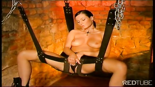 steaming fetish babe in dungeon space  1 Thumb