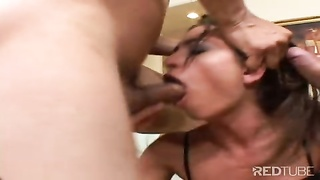Naomi throating hard-ons and torn up in caboose Thumb