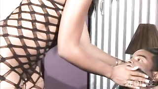 Sydnee Capri predominates  a lucky bound up guy Thumb