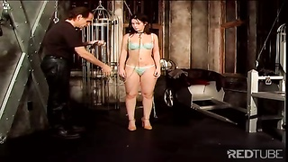 fantastic spanked ass in the dungeon space Thumb