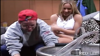 Blond teenage  whore pounding at its greatest Thumb