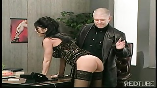 Office subordinated bitch spanked savor hell Thumb