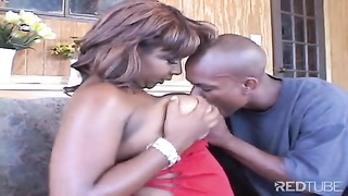 big donk black  damsel receives sheer pleasure treatment Thumb