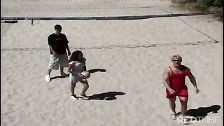 Group volleyball turns into group sex Thumb