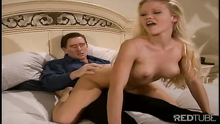 Blond Julie Meadows receives anal invasion and slit drill Thumb